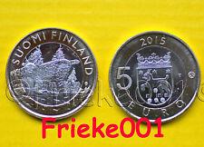 Finland - Finlande - 5 euro 2015 unc.(Lynx)
