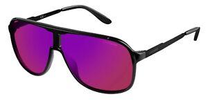 Carrera New Safari Unisex Black Metal Sunglasses Designer Sports Retro Aviator