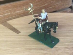 Roman cavalry standard bearer. New Hope Design 54 mm metal toy soldier