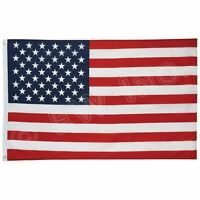 Wholesale lot 12pcs 3' x 5' ft USA US American Flag Stars Grommets United States