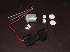 3v 3 volt 12000 Rpm DC Motor SHAFTS COGS GEARS   BATTERY HOLDER PROJECTS MM10