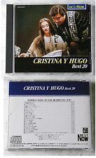 CRISTINA Y HUGO - Best 20 .. Japan EMI Odeon CD TOP No Barcode