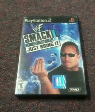 WWE SmackDown! Just Bring It (Sony PlayStation 2, 2002)