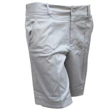 Oakley Grip Shorts Dove Grey Size 10 US 14 AU Womens Golf Dress Short Walkshort