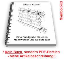 Jalousie Lamellen Befestigung selbst bauen - Jalousien Technik Patente
