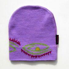 Authentique vintage Bonnet de ski ROSSIGNOL violet - Made in France