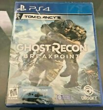 New - Tom Clancy's Ghost Recon Breakpoint for PS4 (Playstation 4) - Ships Free