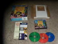 Muppet Treasure Island (PC, 1996) with big box