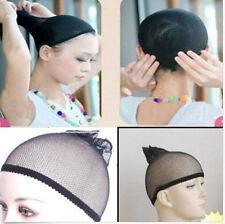 Black Elastic Invisible Mesh Weaving Soft Fishnet Mesh Hair Fashion Wig Net Cap
