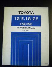 Toyota Werkstatthandbuch Engine Motor Repair Manual Cressida GX71 1G-E 1G-GE