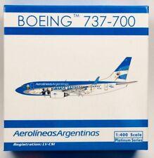 Phoenix 10976 Aerolineas Argentinas Boeing 737-700 'LV-CSI' 1/400 Scale Model