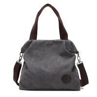 Canvas Women Messenger Bags Big Handbags Shoulder Cross Body Shoulder Hobo Bag