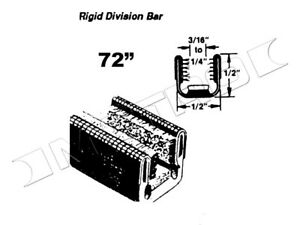 Upper and Lower ridge division-Bar channel  Fits:1948-1991 Chevrolet snd more