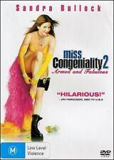 Miss Congeniality 2 Sandra Bullock Regina King William Shatner Comedy Dvd Reg 4