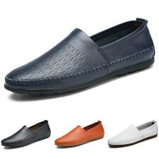 Men's Pumps Loafers Shoes Slip on Breathable Flats Driving Moccasin Soft Casual