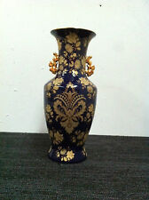 Oriental Hand Crafted Blue Vase 35 Cm Height
