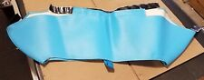 Vintage NOS Snowmobile Nose Cone Sno Bra by Commercial Sewing Polaris Indy Blue