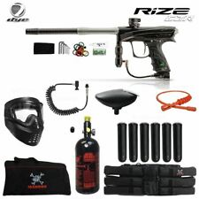 Dye Rize Czr Corporal Hpa Paintball Gun Package - Black / Grey