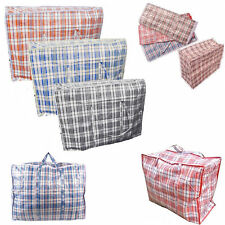 Strong Storage Quality Laundry Bags M L XL XXL Reusable Zipped Shopping Recycle