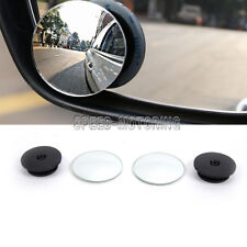 2PC Blind Spot Side Wing Mirrors Rear view Convex Wide Angle Adjustable Exterior