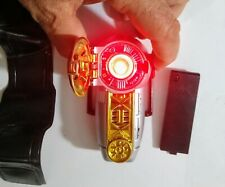 Power Rangers ZEO Left ZEONIZER Morpher Megazord Communicator 1996 Light/Sound!