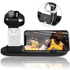 Noir Series Matte Black 10w Wireless Charge Nightstand Phone & Accessory Dock