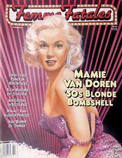 Femme Fatales Mamie Van Doren '50s Blonde Bombshell Magazine Vol. 5 # 8