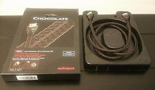 "AudioQuest - Chocolate 1m 3/4"" HDMI Cable - Coffee/Black"