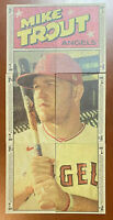 2021 Topps Heritage MIKE TROUT Complete PUZZLE SET of (6) Cards w/ Jo Adell RC