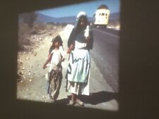 16mm Home Movie Mexico 1950 Children Mothers Village Flowers 400'