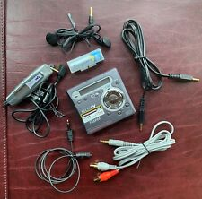 More details for sony walkman md radio fm/am minidisc player / recorder mz-g750 - fully working