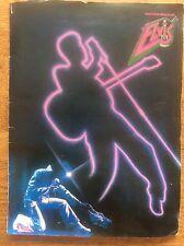 1980s Official Elvis Presley Souvenir Fan Club Magazine Brochure by Brian Rix