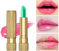 Natural AloeVera Lipstick Moisturizing Primer Lip Temperature Colour Changing..