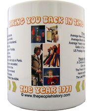 1971 Year In History Coffee Mug Includes Gift Box Born In 1971 Birthday Gift