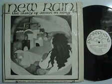 NEW RAIN The Story of Jesus in Song CHRISTIAN PSYCH/ FOLK LP Shrink PERSEPHONE