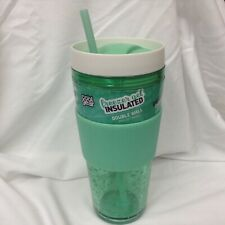 Cool Gear 24oz Callisto Double Walled Gel Tumbler with Band Green