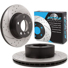 FRONT DRILLED GROOVED 300mm BRAKE DISCS FOR BMW 1 3 SERIES F20 F21 118 120d 320i