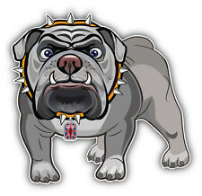English Bulldog Car Bumper Sticker Decal 5'' x 5''