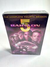 1996-1997 BABYLON 5 complete fourth season 6 DVD 22 EPISODE Sci-Fi TV NEW SEALED