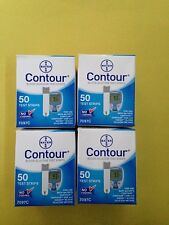 Bayer Contour Blood Glucose 200 Test Strips Expiration Date 07/2019