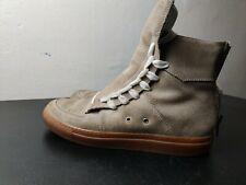 KRIS VAN ASSCHE Men's Tan High Top Luxury Surgery Sneakers Shoes EU 41 / US 8