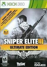 Sniper Elite III 3 -- Ultimate Edition (Microsoft Xbox 360, 2015)