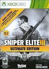 Sniper Elite III -- Ultimate Edition (Microsoft Xbox 360, 2015)