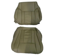 1997-1998 Toyota 4runner tan leather seat covers 1 back rest and 1 bottom