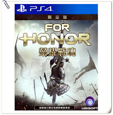 DELUXE EDITION PS4 For Honor English + Chinese 榮耀戰魂 中英文版 Ubisoft Action Games