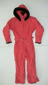 NORTHERN LIGHTS Pink Warm INSULATED SKI SUIT Snow-Board Jacket Pants Women's 10