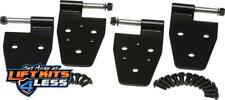 Kentrol 50525 Door Hinge Set 4 Pieces for 1997-2002 Jeep Wrangler (TJ)