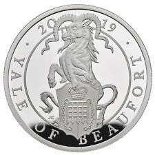 1 Ounce Silver Proof Queens Beasts The Yale of Beaufort 2£ UK 2019