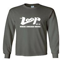 Long Sleeve Shirt  The Loop Chicago Radio Station 97.9 98 FM Brand New