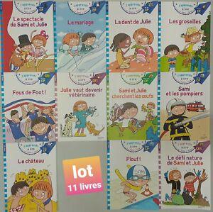 LOT 11 livres - J'apprends à lire SAMI & JULIE